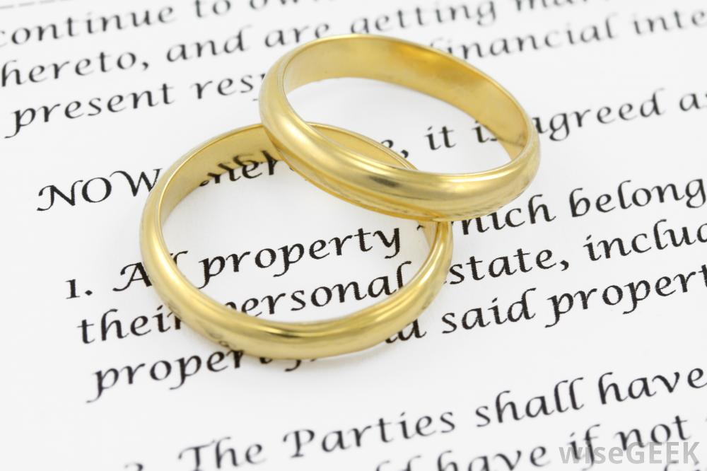 Äktenskapskontrakt