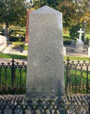 Tecknet på gravstenen