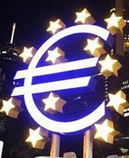 Europa på väg in i bergvägg