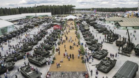 Gigantisk militärövning
