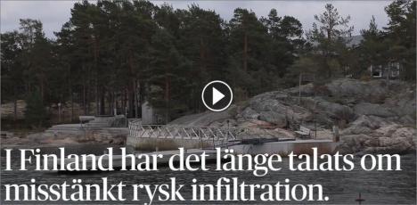 Rysk aktivitet i Sverige och Finland