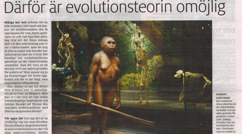 Evolutionsteorin – bara en teori