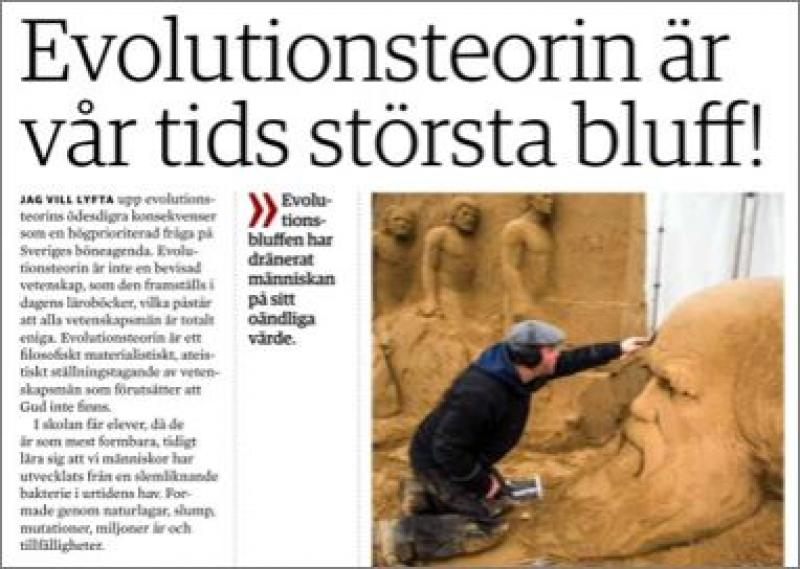 Evolutionsbluffen