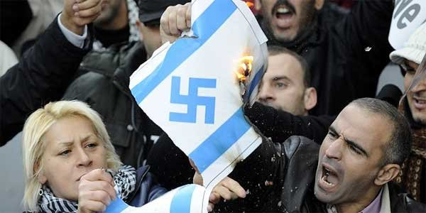 Antisemitismen ökar kraftigt