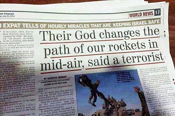 Ett Guds under i Gaza-kriget