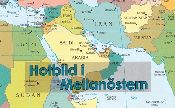 Hotbild i Mellanöstern