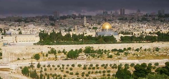 Ödesmättad kamp om Jerusalem