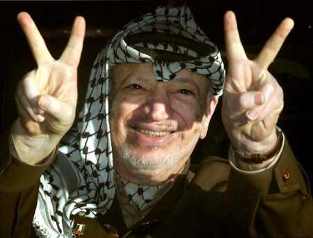 Guldgossarna Abbas och Arafat