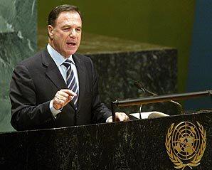 Israels öde avgörs inte av FN