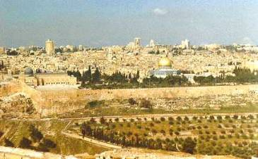 Herrens ord om Israel och Jerusalem