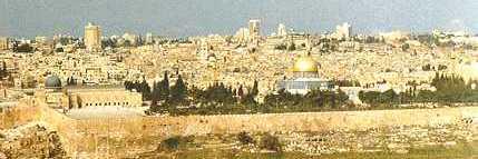 Vi går mot en uppgörelse om Jerusalem