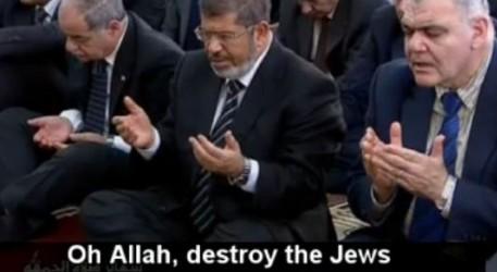 I Egypten ber man om judarnas död