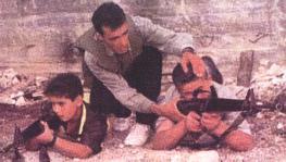 Det grymma offrandet av palestinska barn