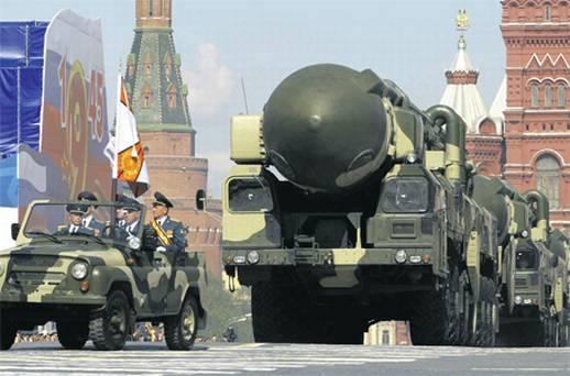 Ryssland kommer att agera militärt