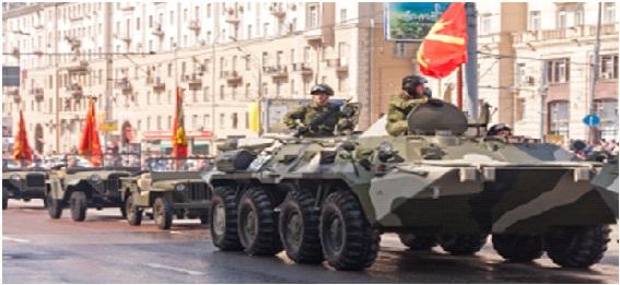 Ryssland rustar