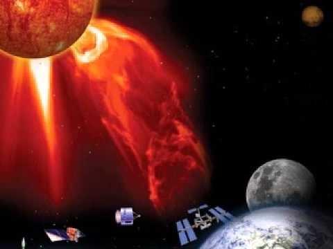 Solstormar - ett hot mot jorden